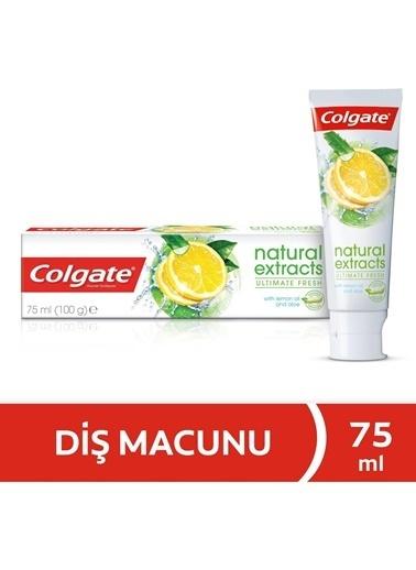 Colgate Colgate Natural Extracts Maksimum Ferahlık Yağı Ve Aloe Vera Doğal Özlü Diş Macunu 75 Ml Renksiz